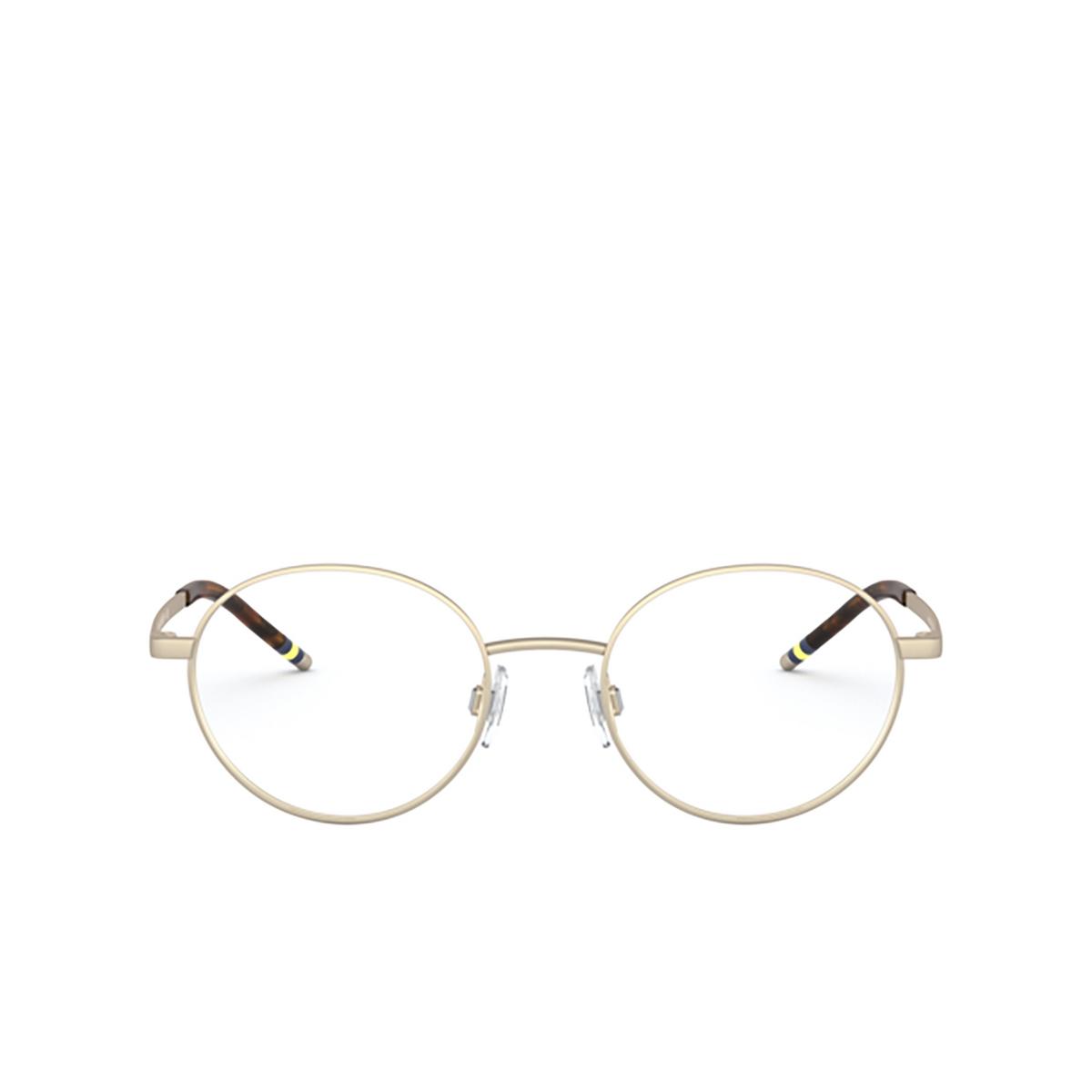 Polo Ralph Lauren® Oval Eyeglasses: PH1193 color Matte Pale Gold 9116.