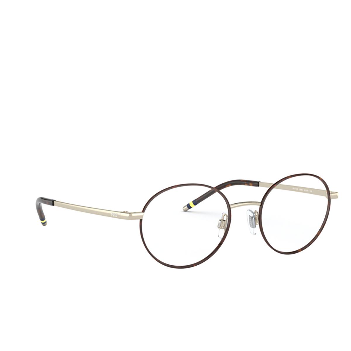 Polo Ralph Lauren® Oval Eyeglasses: PH1193 color Havana On Shiny Pale Gold 9393.