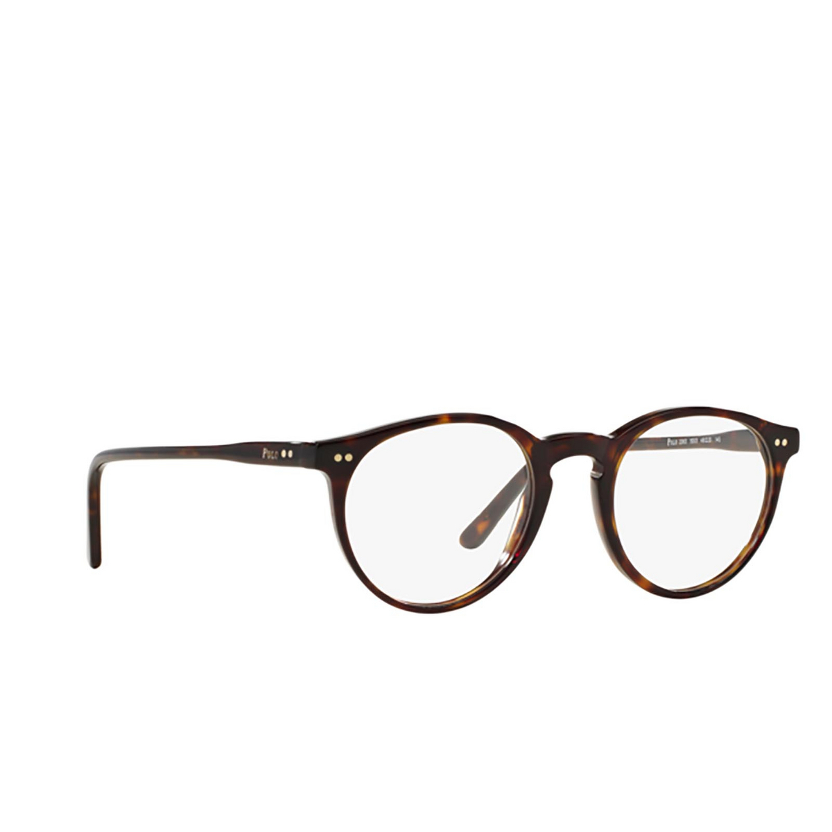 Polo Ralph Lauren® Round Eyeglasses: PH2083 color Shiny Dark Havana 5003.