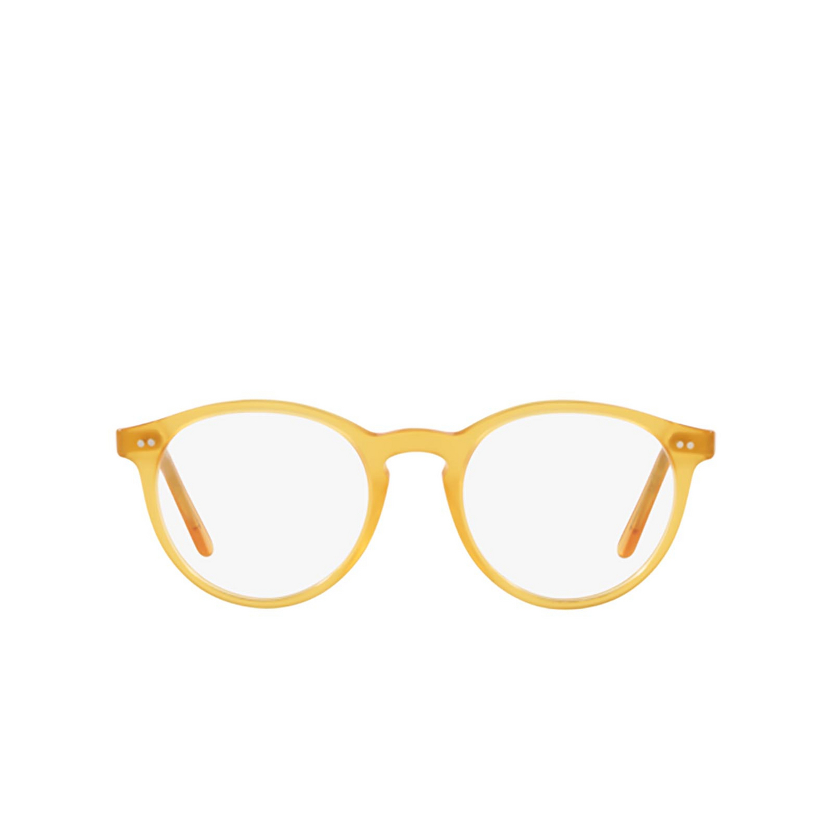 Polo Ralph Lauren® Round Eyeglasses: PH2083 color Shiny Honey 5184 - front view.