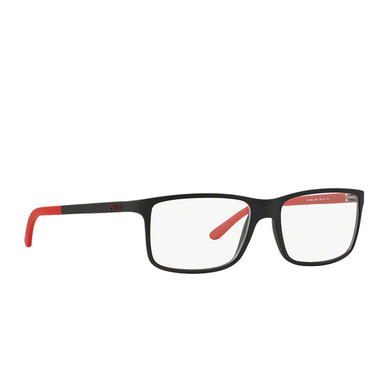 Polo Ralph Lauren® Rectangle Eyeglasses: PH2126 color Matte Black 5504.