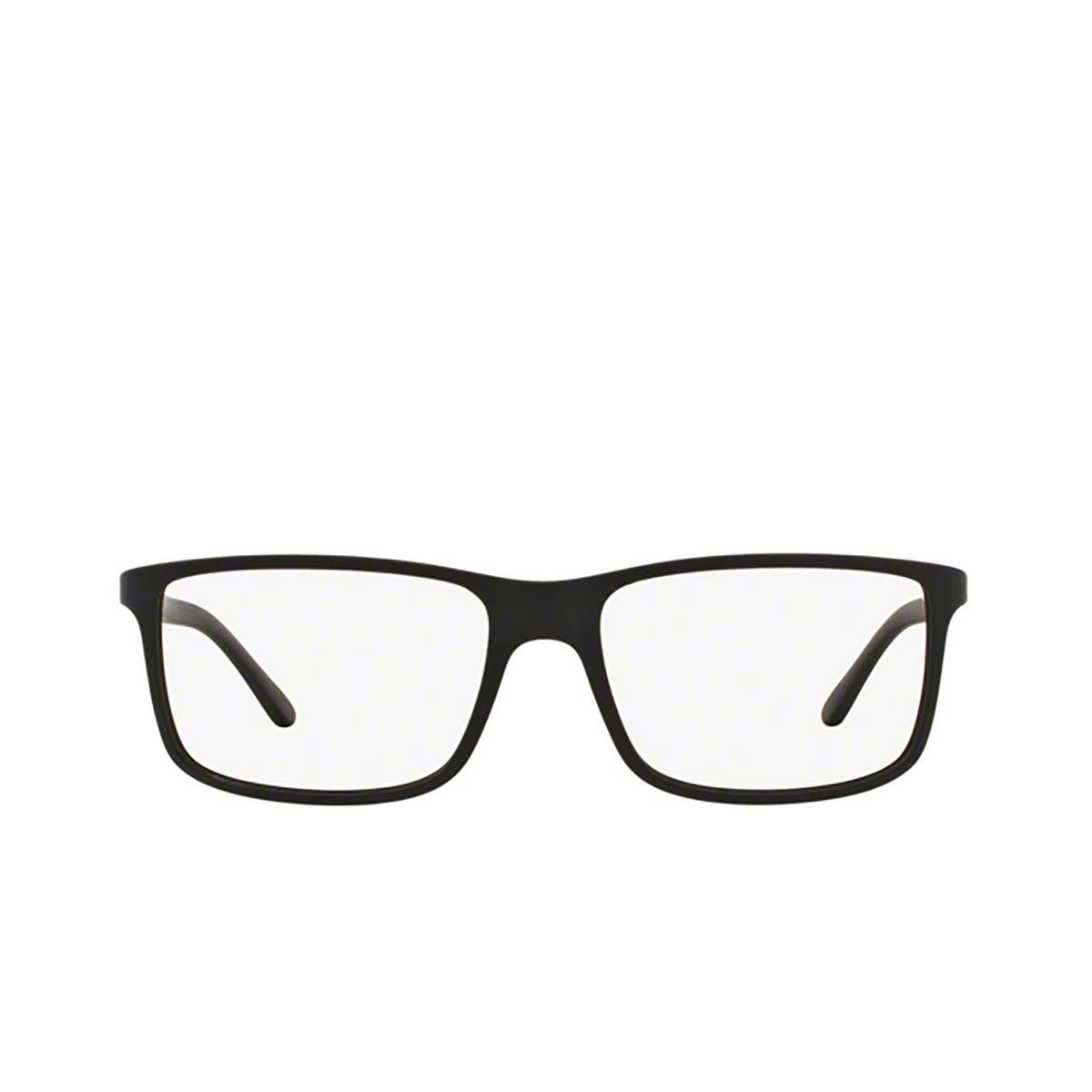 Polo Ralph Lauren® Rectangle Eyeglasses: PH2126 color Matte Black 5505 - front view.