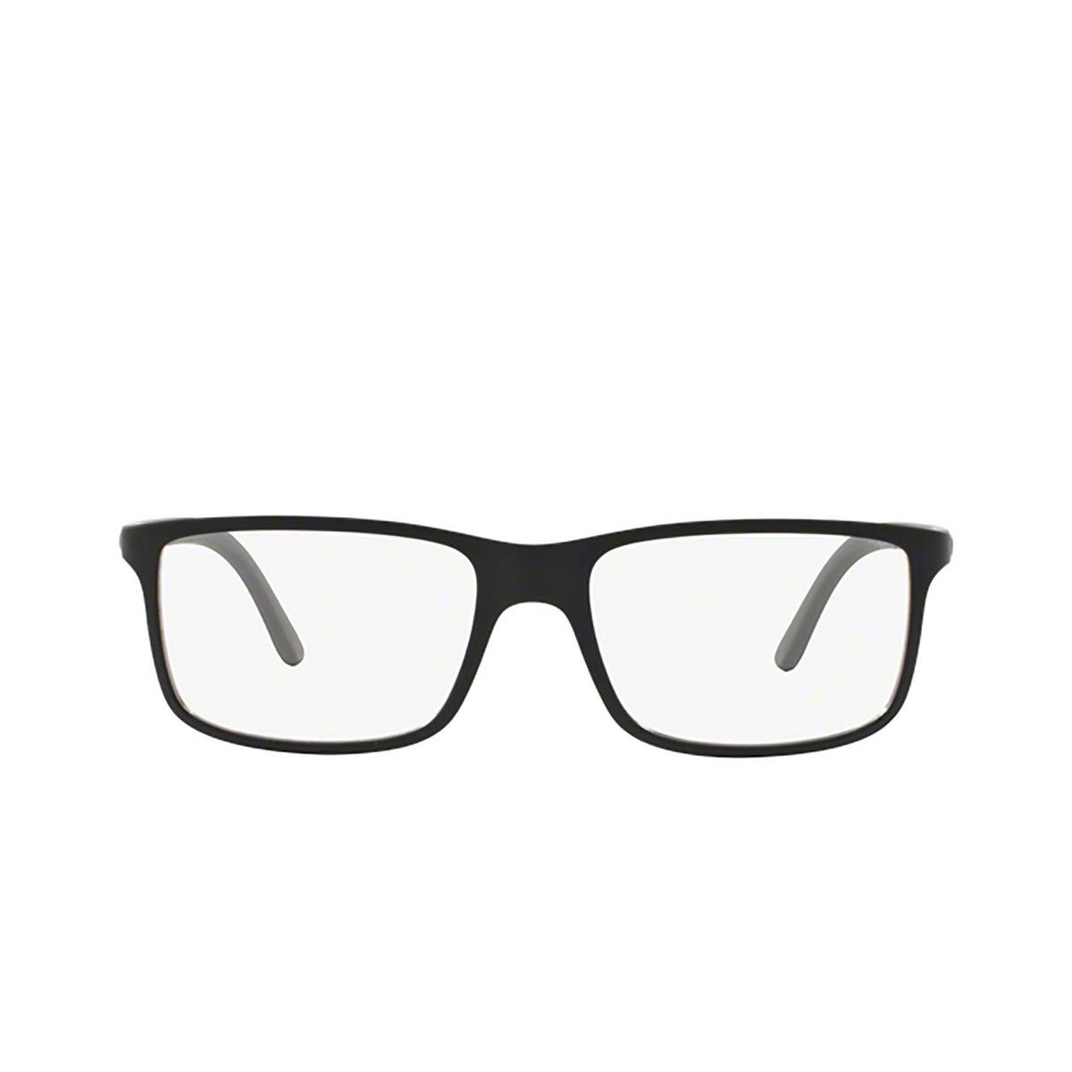 Polo Ralph Lauren® Rectangle Eyeglasses: PH2126 color Matte Black 5534 - front view.
