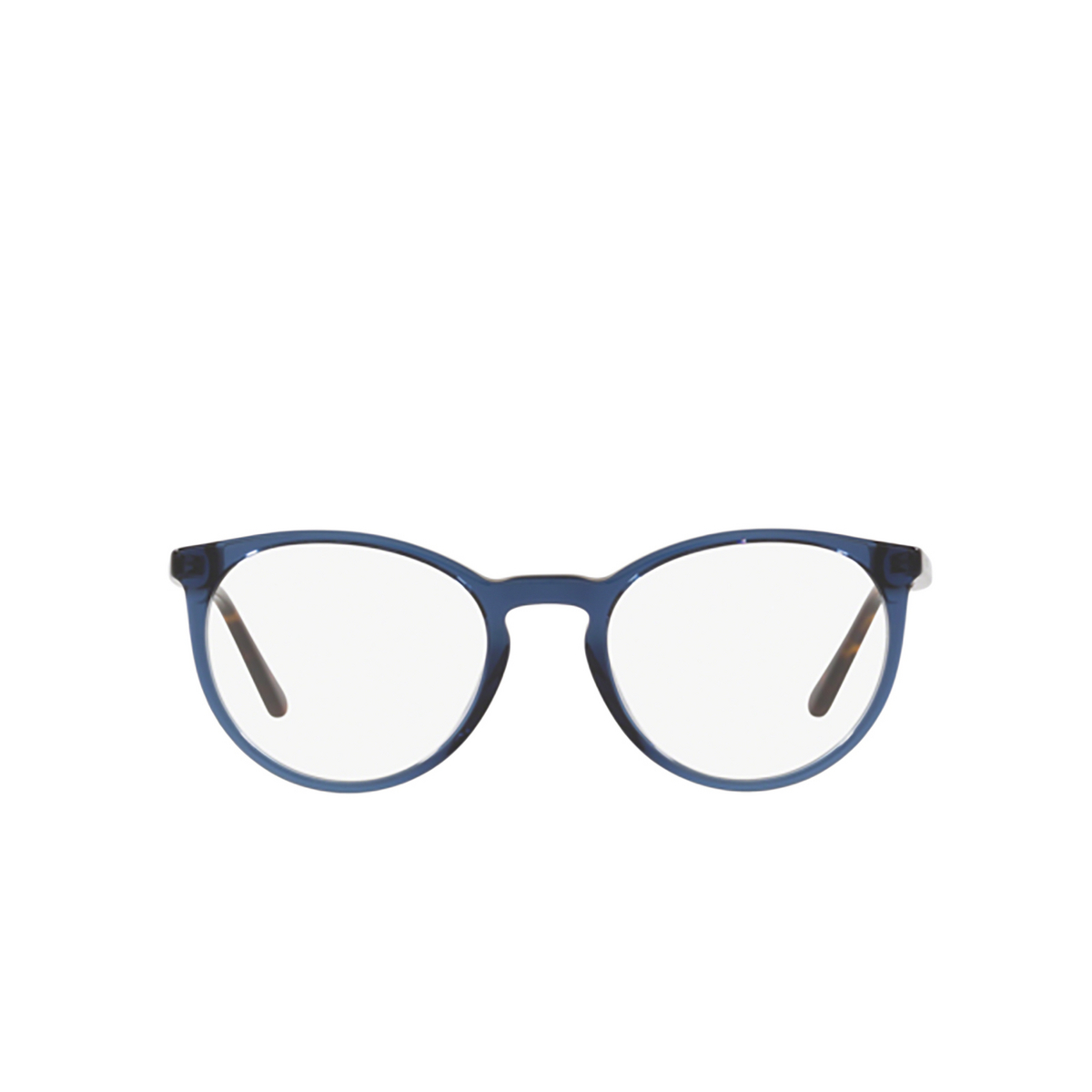 Polo Ralph Lauren® Round Eyeglasses: PH2193 color Shiny Transparent Blue 5276.