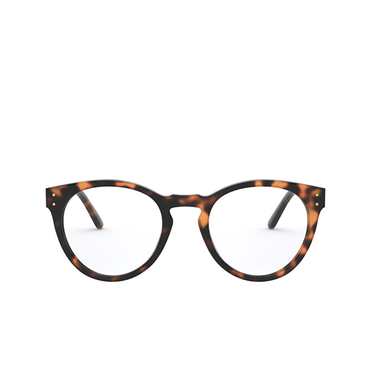 Polo Ralph Lauren® Round Eyeglasses: PH2215 color Shiny Jc Tortoise 5303 - front view.