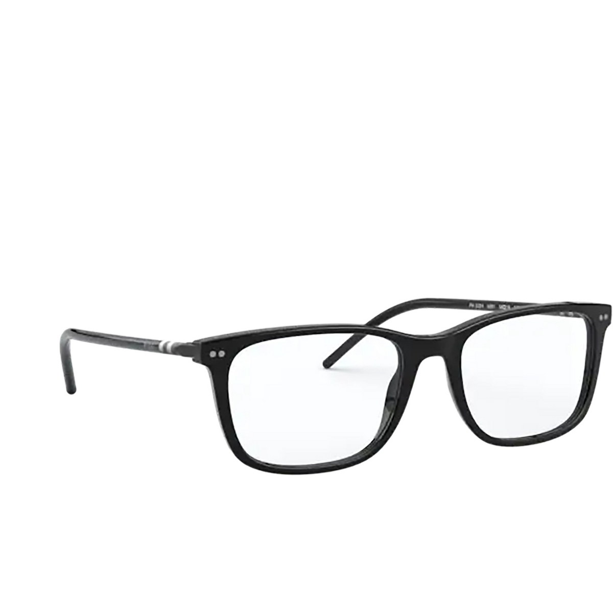 Polo Ralph Lauren® Square Eyeglasses: PH2224 color Shiny Black 5001.