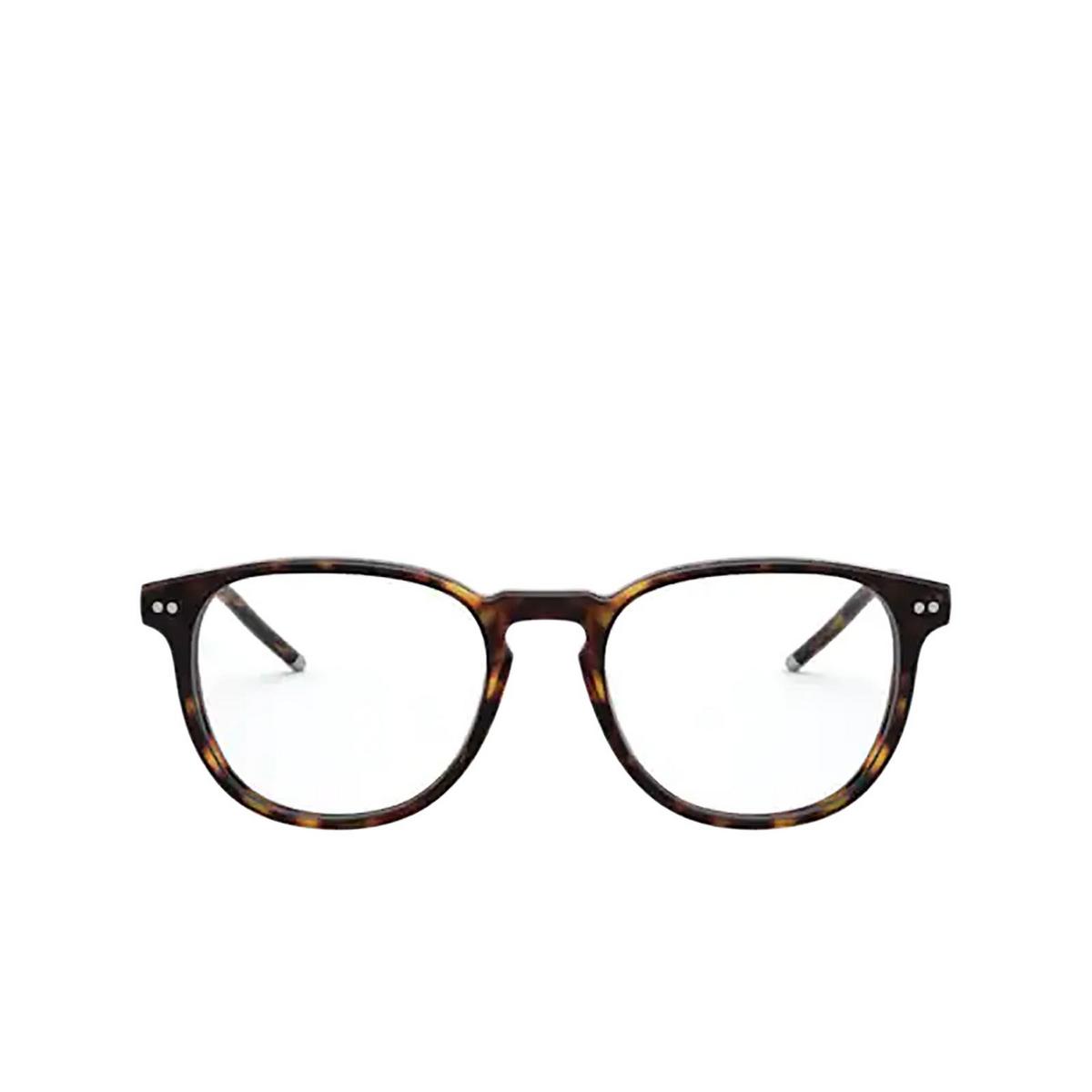 Polo Ralph Lauren® Square Eyeglasses: PH2225 color Shiny Dark Havana 5003 - front view.