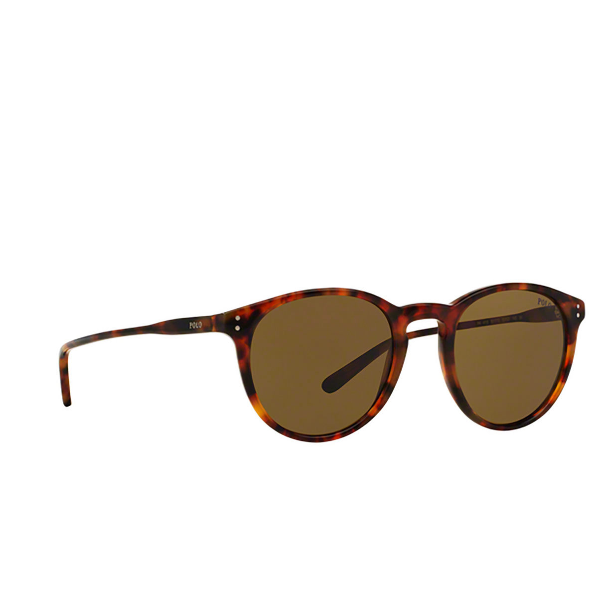 Polo Ralph Lauren® Round Sunglasses: PH4110 color Shiny Jerry Havana 501773.