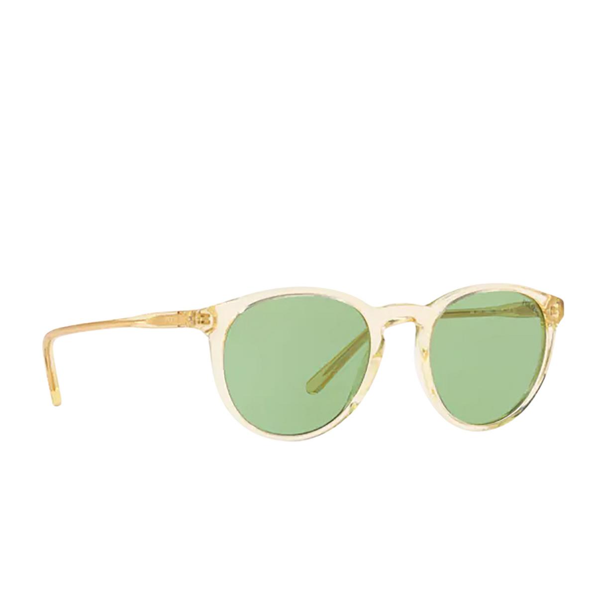 Polo Ralph Lauren® Round Sunglasses: PH4110 color Shiny Grey Pinot 5864/2.
