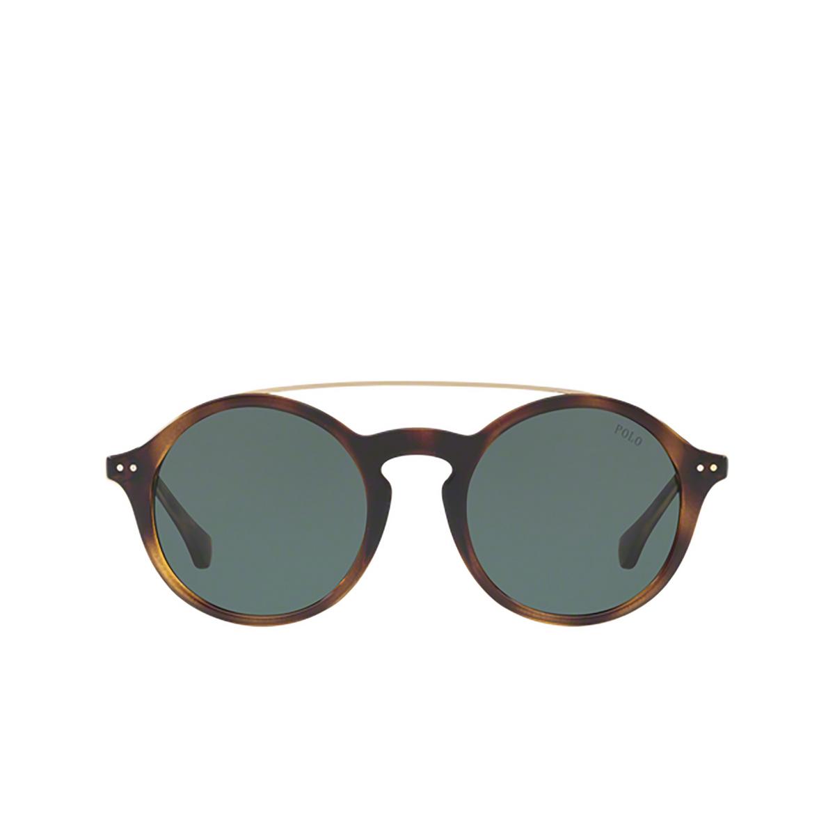 Polo Ralph Lauren® Round Sunglasses: PH4122 color 500371.