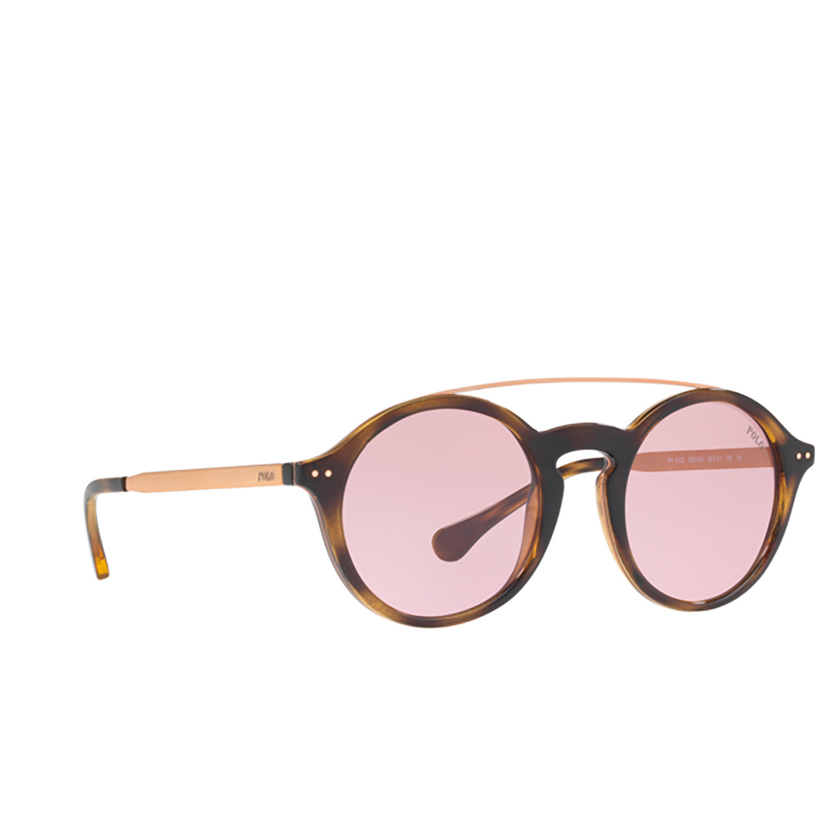 Polo Ralph Lauren® Round Sunglasses: PH4122 color 500384.