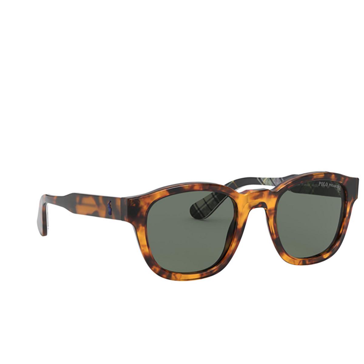 Polo Ralph Lauren® Square Sunglasses: PH4159 color Shiny Antique Tortoise 51349A.