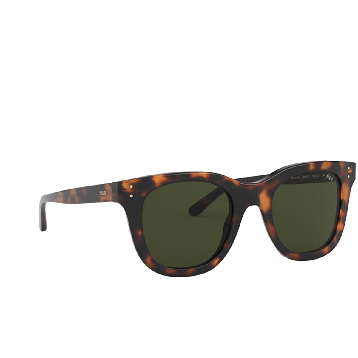 Polo Ralph Lauren® Square Sunglasses: PH4160 color Shiny Jc Tortoise 530371.