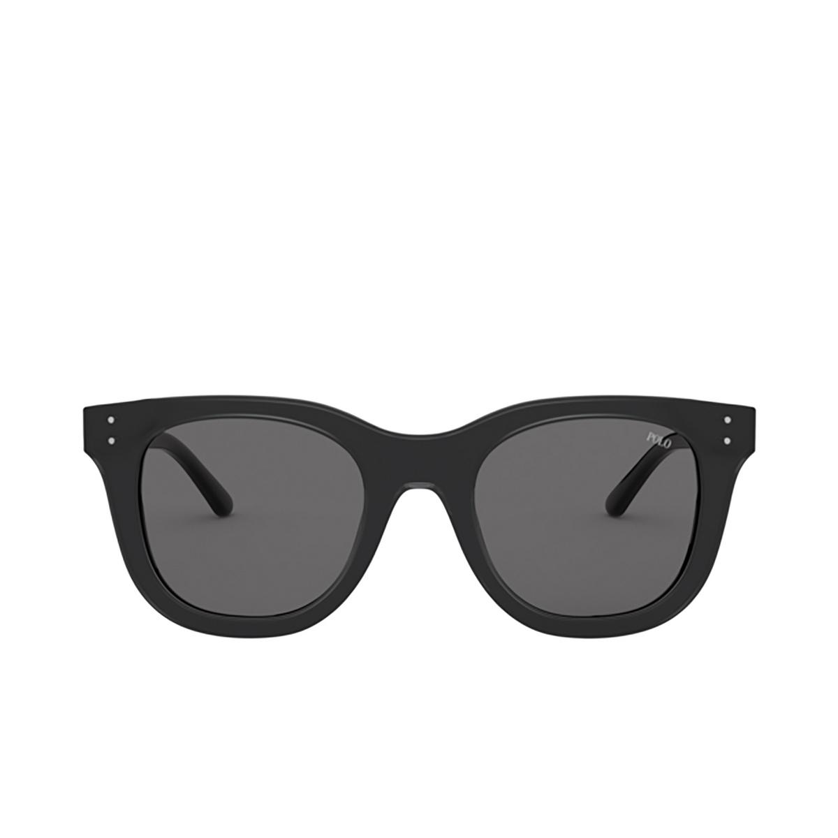 Polo Ralph Lauren® Square Sunglasses: PH4160 color Shiny Crystal On Black 581287.