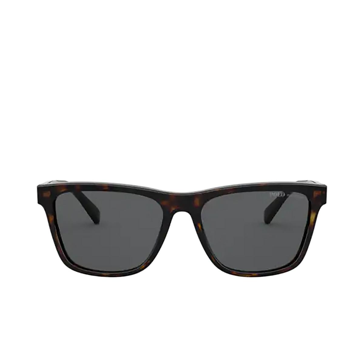 Polo Ralph Lauren® Square Sunglasses: PH4167 color Shiny Dark Havana 500387.
