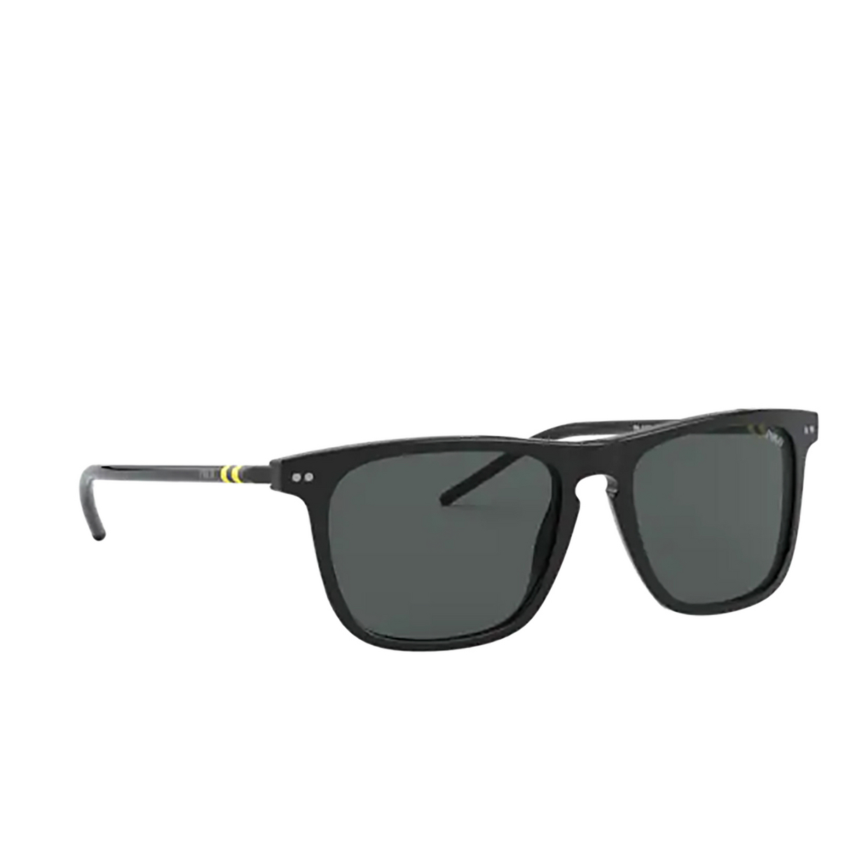 Polo Ralph Lauren® Square Sunglasses: PH4168 color Shiny Black 500187.