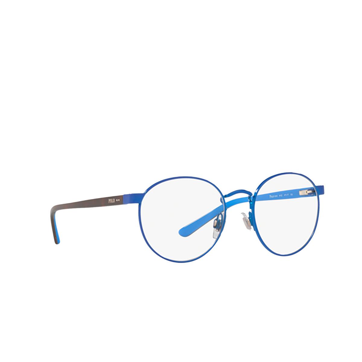 Polo Ralph Lauren® Round Eyeglasses: PP8040 color Shiny Electric Blue 9102.