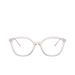 Prada® Eyeglasses: PR 11VV color Crystal Pink 5381O1.