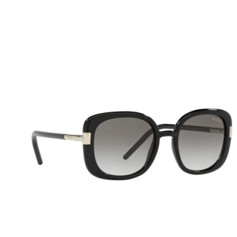 Prada® Square Sunglasses: PR 04WS color Black 1AB0A7.