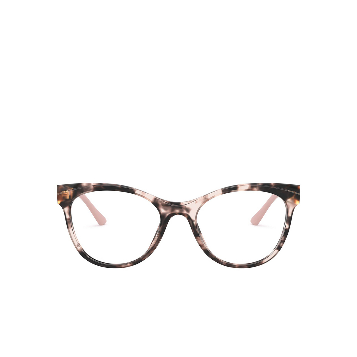 Prada® Butterfly Eyeglasses: PR 05WV color Pink Havana ROJ1O1 - front view.