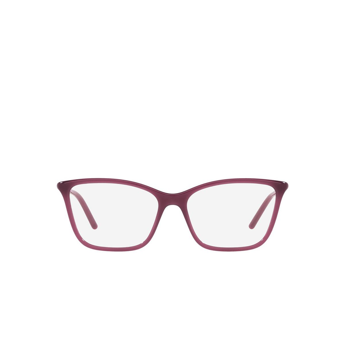 Prada® Cat-eye Eyeglasses: PR 08WV color Opal Bordeaux 2BM1O1 - front view.