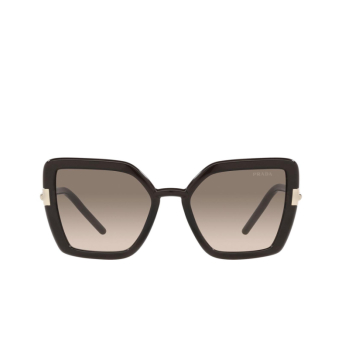 Prada® Butterfly Sunglasses: PR 09WS color Crystal Dark Brown 05M3D0.