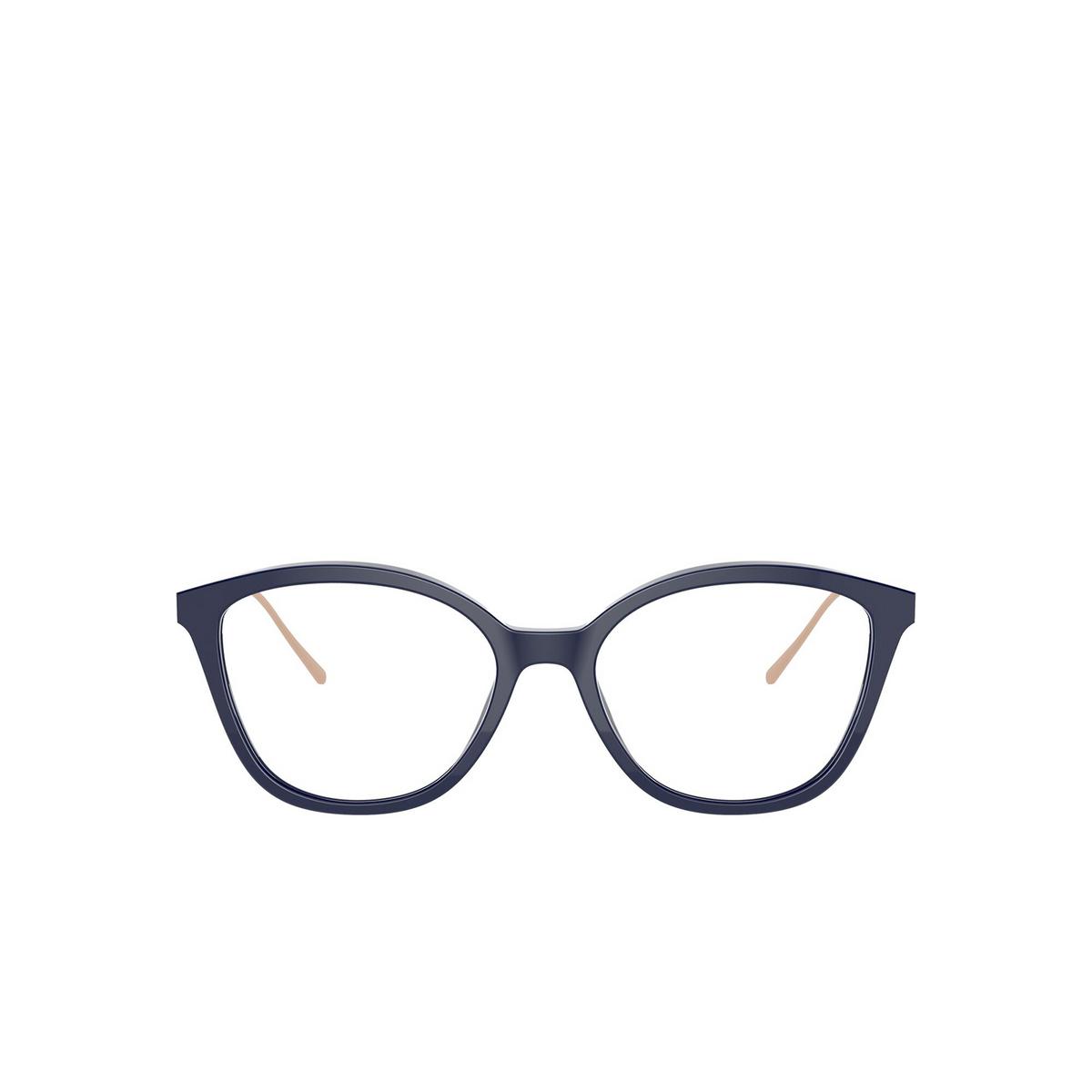Prada® Square Eyeglasses: PR 11VV color Baltic VY71O1 - front view.