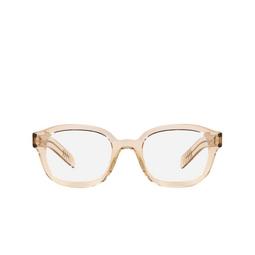 Prada® Eyeglasses: PR 11WV color Crystal Amber 01N1O1.