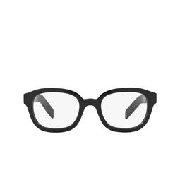 Prada® Eyeglasses: PR 11WV color Black 1AB1O1.