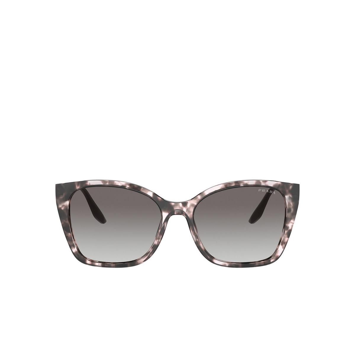 Prada® Cat-eye Sunglasses: PR 12XS color Orchid Tortoise ROJ0A7 - front view.