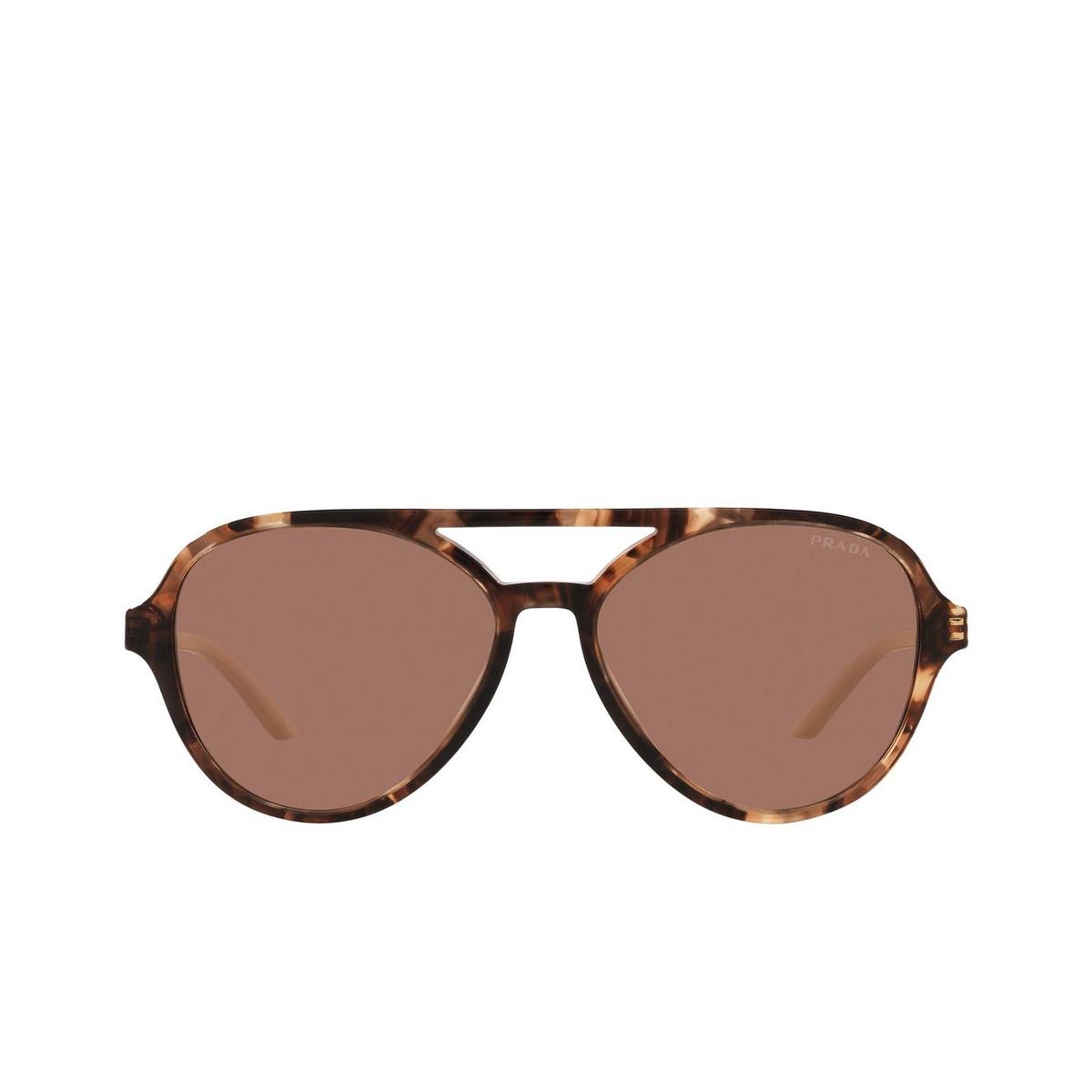 Prada® Aviator Sunglasses: PR 13WS color Caramel Tortoise 07R1P1.