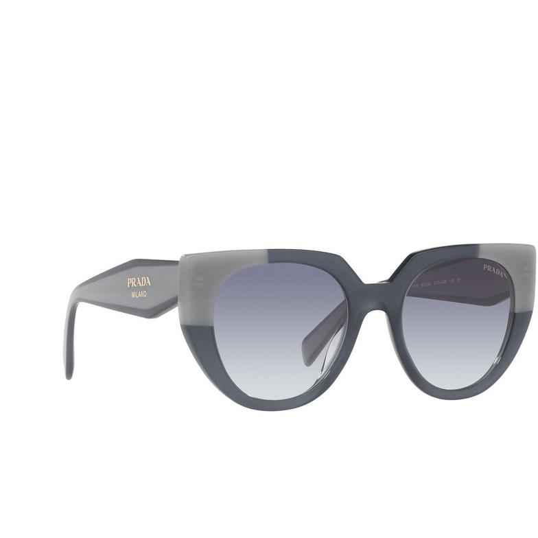 Prada® Cat-eye Sunglasses: PR 14WS color Opal Astral 07Q409.