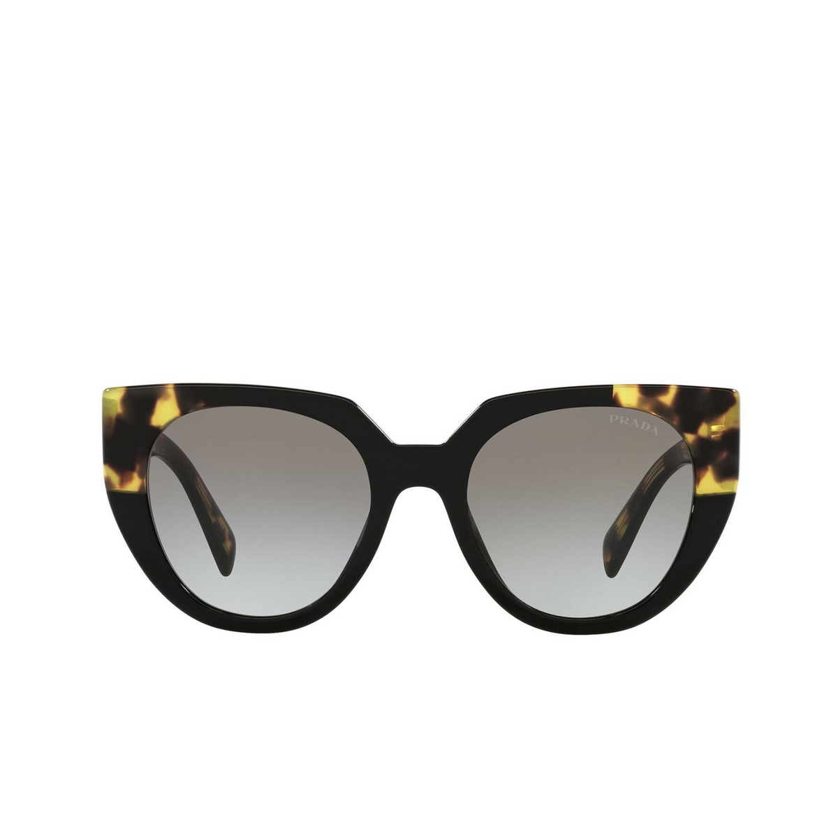 Prada® Cat-eye Sunglasses: PR 14WS color Black / Medium Tortoise 3890A7.