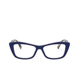 Prada® Eyeglasses: PR 15XV color Blu / Medium Havana 05C1O1.