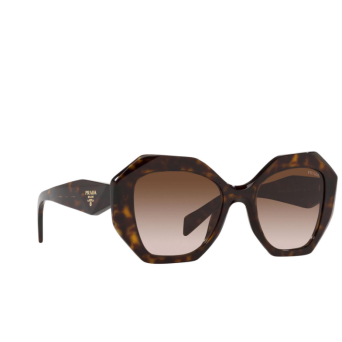Prada® Irregular Sunglasses: PR 16WS color Tortoise 2AU621.