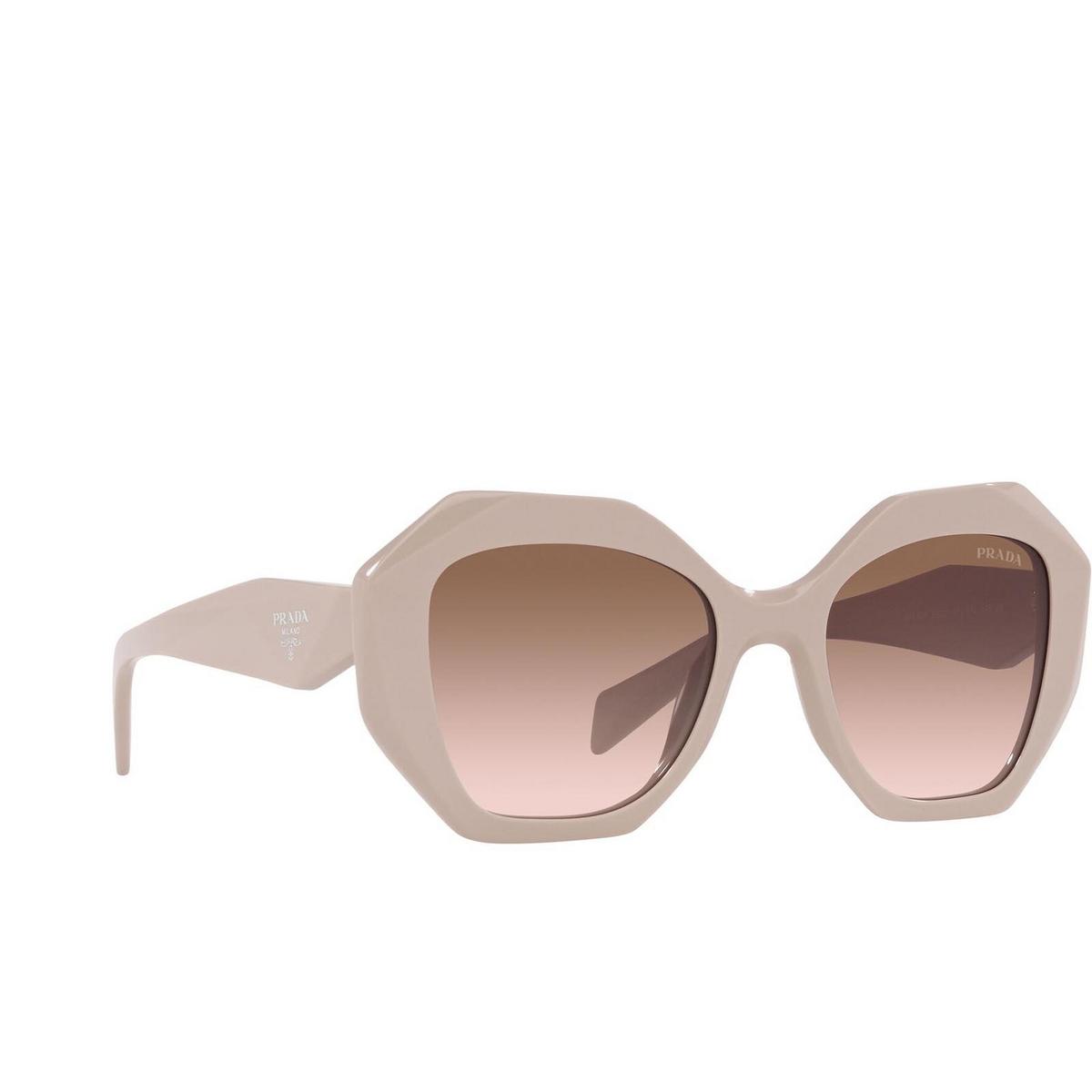 Prada® Irregular Sunglasses: PR 16WS color Powder VYJ0A6.