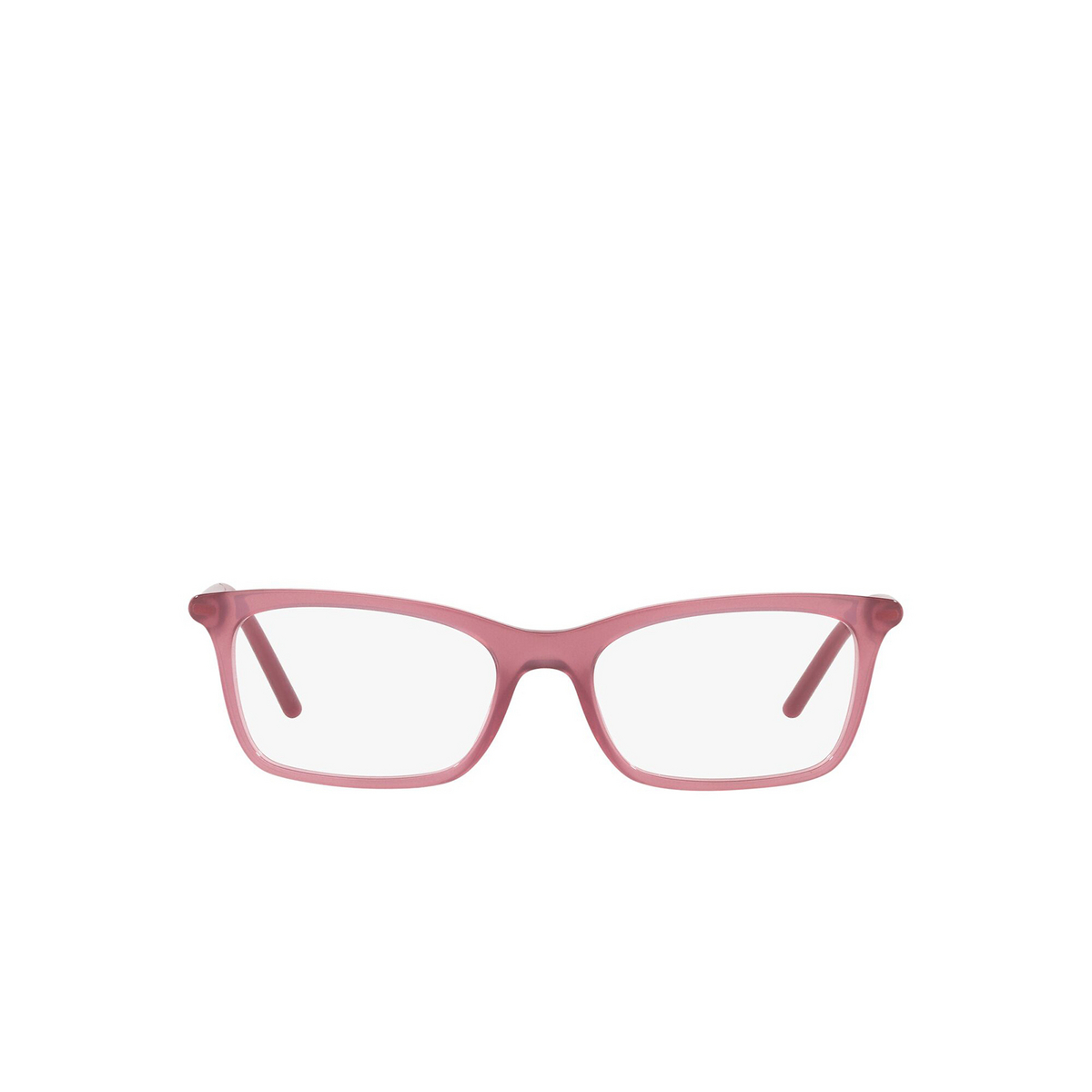 Prada® Rectangle Eyeglasses: PR 16WV color Opal Bordeaux 2BM1O1 - front view.
