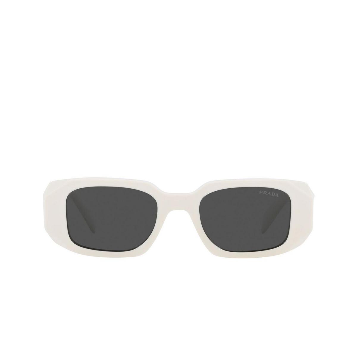 Prada® Rectangle Sunglasses: PR 17WS color Talc 1425S0.