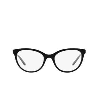 Prada® Cat-eye Eyeglasses: PR 17WV color Black 1AB1O1.