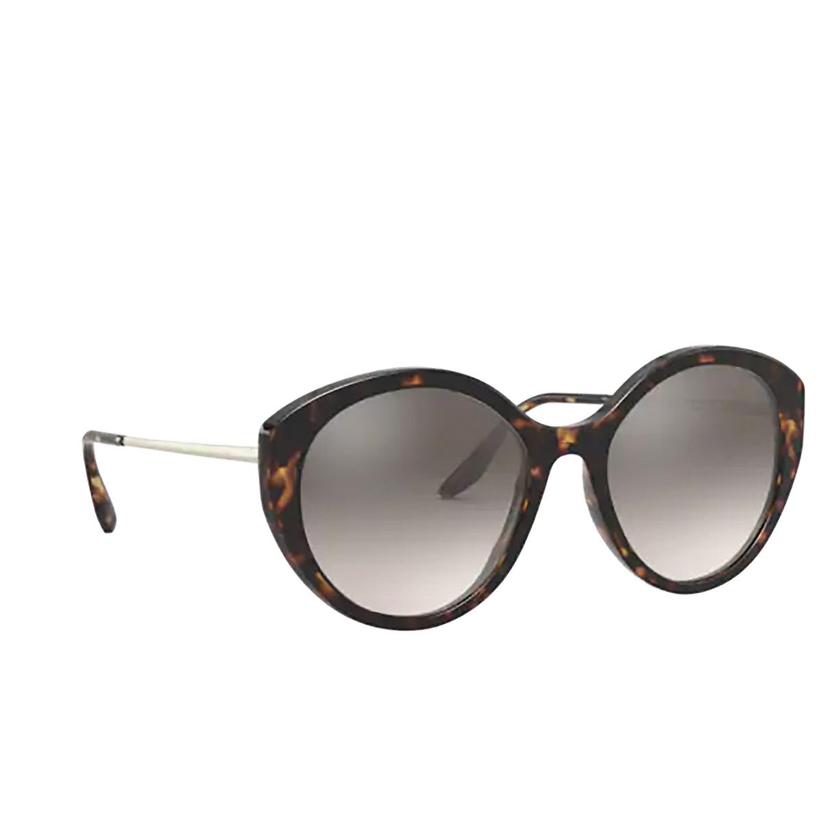 Prada® Round Sunglasses: PR 18XS color Havana 2AU4P0.