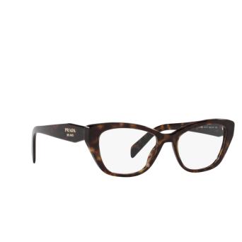 Prada® Cat-eye Eyeglasses: PR 19WV color Tortoise 2AU1O1.