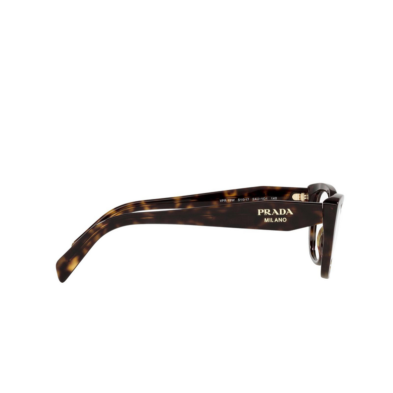 Prada® Cat-eye Eyeglasses: PR 19WV color Tortoise 2AU1O1.