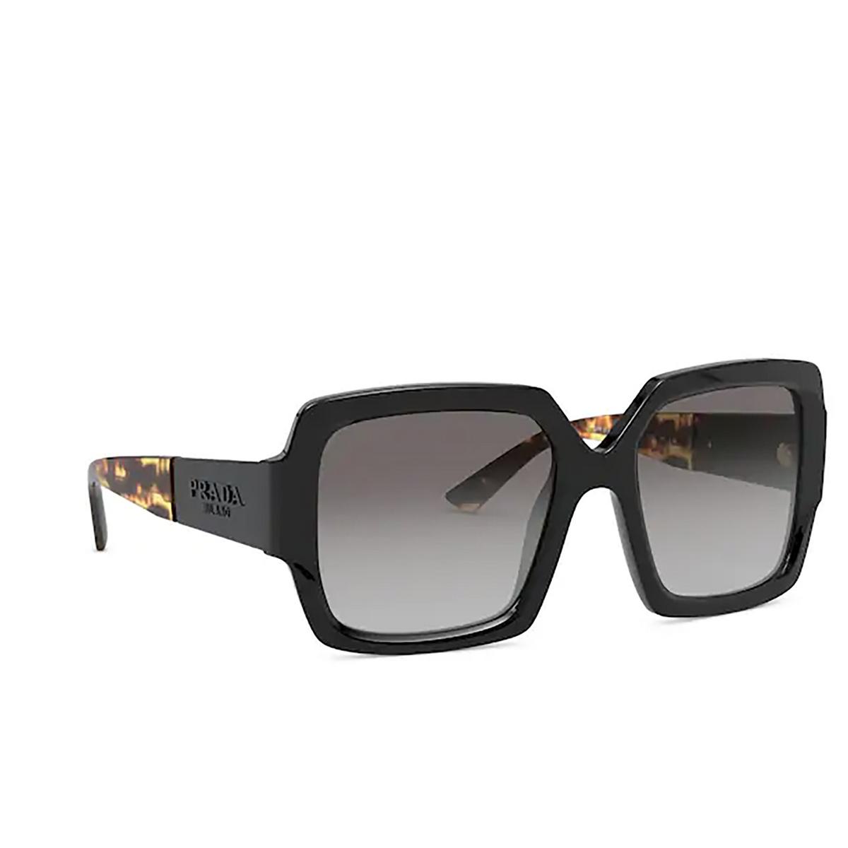 Prada® Square Sunglasses: PR 21XS color Black 1AB0A7.