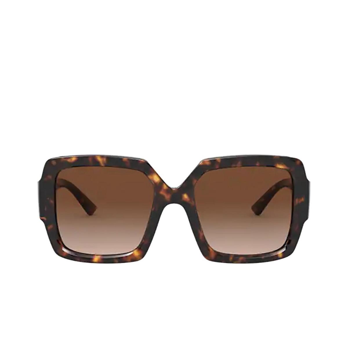 Prada® Square Sunglasses: PR 21XS color Havana 2AU6S1.