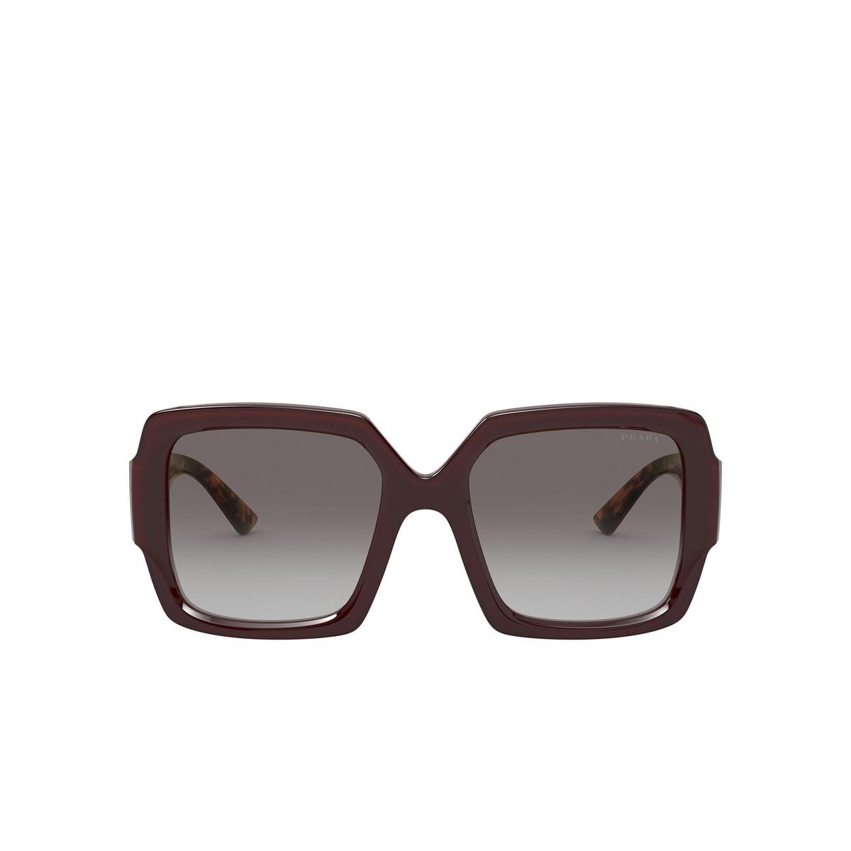 Prada® Square Sunglasses: PR 21XS color Bordeaux UAN0A7.
