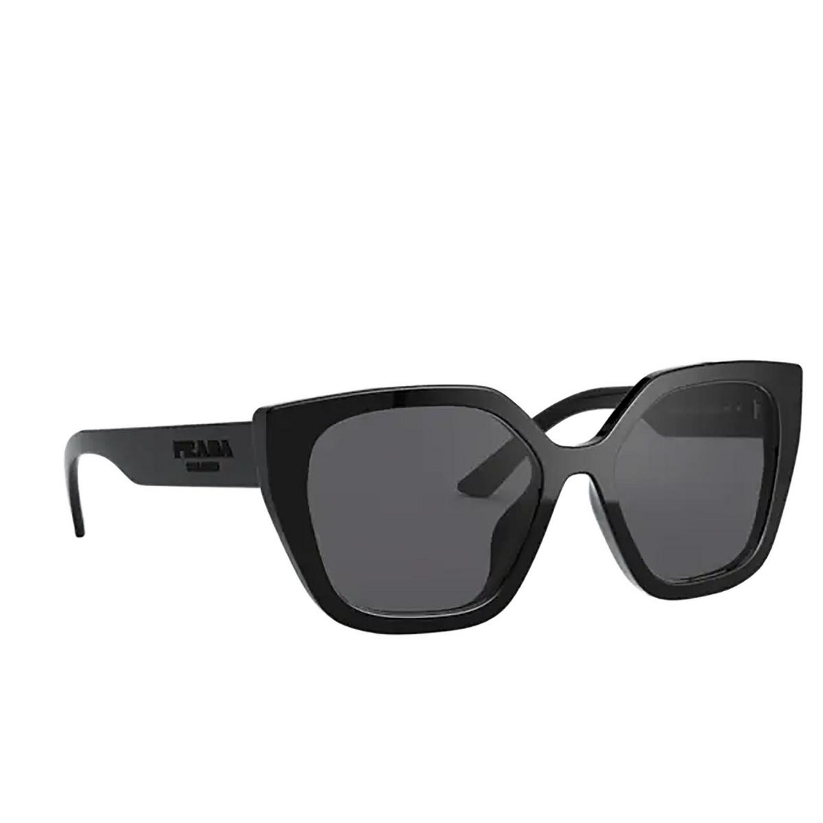 Prada® Butterfly Sunglasses: PR 24XS color Black 1AB5Z1.