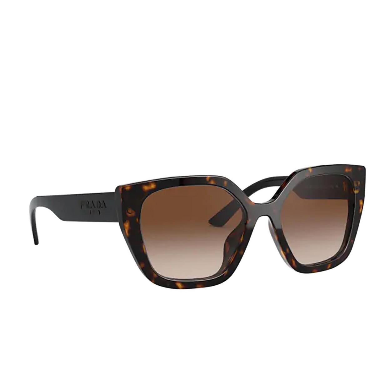 Prada® Butterfly Sunglasses: PR 24XS color Havana 2AU6S1.