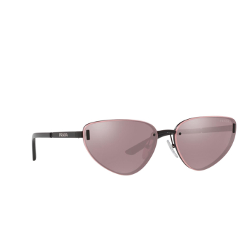 Prada® Cat-eye Sunglasses: PR 57WS color Matte Black 1BO03L.