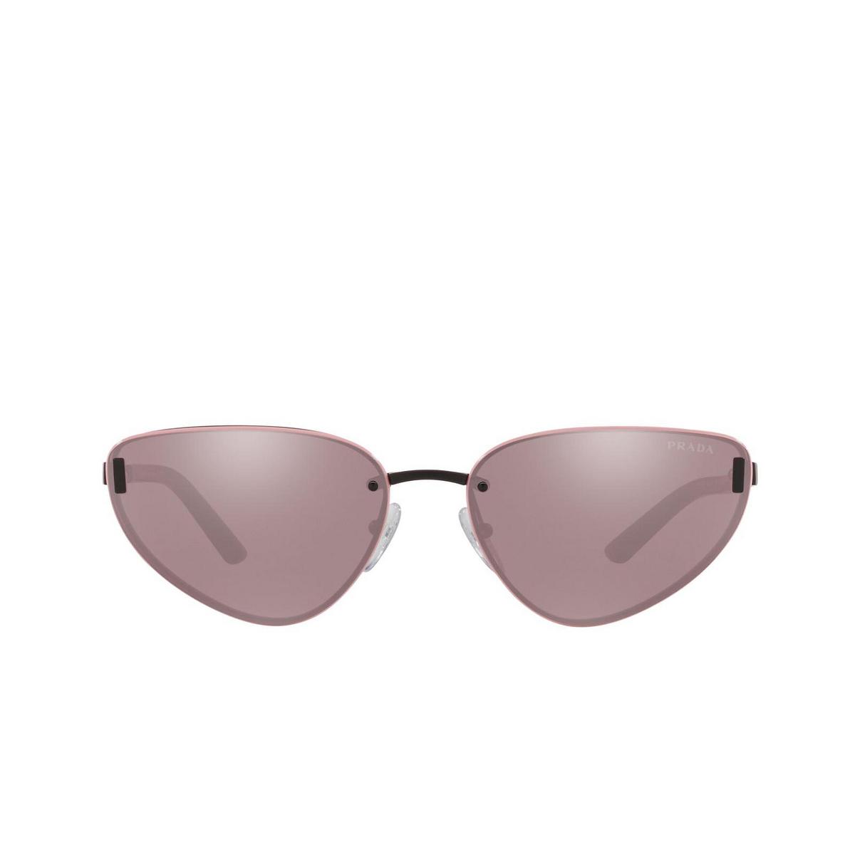 Prada® Cat-eye Sunglasses: PR 57WS color Matte Black 1BO03L.