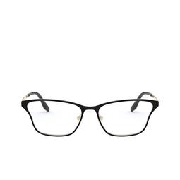 Prada® Eyeglasses: PR 60XV color Top Black / Pale Gold AAV1O1.